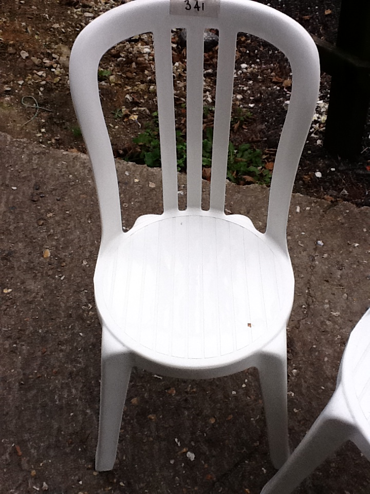 White Miami Bistro Chair