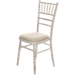 150 LIMEWASH CHIAVARI CHAIRS FOR SALE