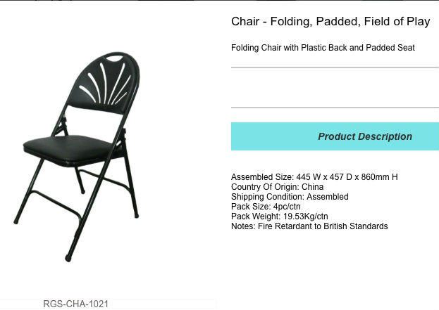 folding plastic chair for sale