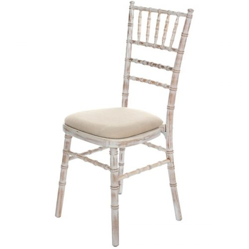 Chiavari Limewash banquet chair